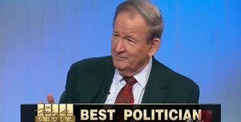 Pat Buchanan Loves Him Some Vladimir Putin And Marine Le Pen