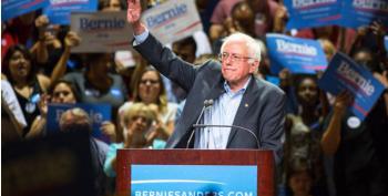 Senator Bernie Sanders Is Having A Very Good Day
