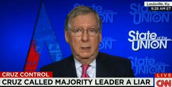 Mitch McConnell Refuses To Take On Ted Cruz For Calling Him A Liar