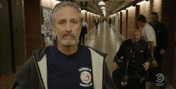 Jon Stewart Returns To The Daily Show To Push For Renewal Of 9-11 First Responders Act