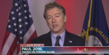 Rand Paul Blasts Ted Cruz For Stealing His Foreign Policy Ideas