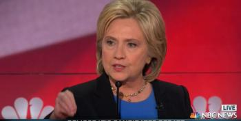 Clinton Raises Hell Over Flint Water Crisis During Debate