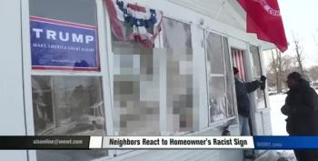 Homeowner Admits That, Yes, His 'N*gger Obama' Sign Is A Little Racist