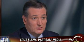 Ted Cruz Claims Media Is Exclusively 'Partisan Liberal Democrats'