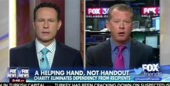 Fox Talker Celebrates Making Poor People Work For 'Their Handouts'