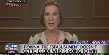 Fiorina Won't Back Down On Planned Parenthood Claims Because Of Hillary Clinton