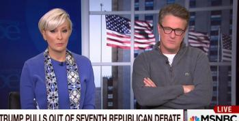 Scarborough: 'I'd Tell Fox To Go To Hell A Lot Faster Than Trump Did'