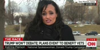Trump Spokeswoman Katrina Pierson Shrugs Off Racist Tweets
