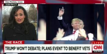 Trump Spox Can't Name One Veteran's Charity Trump Will Support