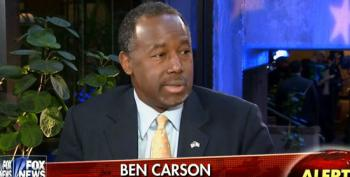 Ben Carson Says The One Thing He Would Never Do Is Lie