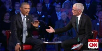 Obama Takes Anderson Cooper To Task For Defending Conspiracy Theorists