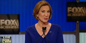 Fiorina: 'Unlike Another Woman In This Race, I Actually Love Spending Time With My Husband'