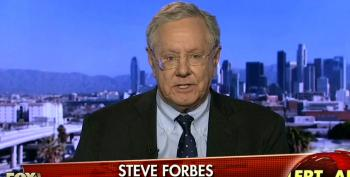 Fox's Forbes Fear Mongers A Sanders Presidency Would Lead To 'More Violence, War, And Bloodshed'