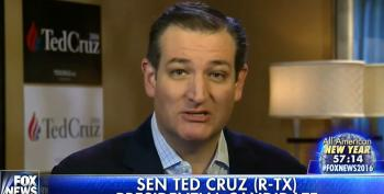 Ted Cruz' Creepy, Mean-Spirited New Year's Message For Fox Viewers