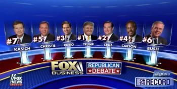 Thursday's Debate Line Up Announced, Rand Paul Unhappy