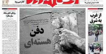 Iran Cements Arak Reactor Shut