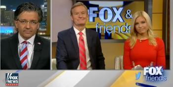 Fox And Friends Bashes President Obama For Visiting Mosque