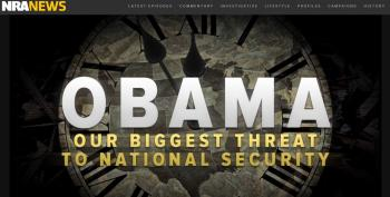 NRA Launches Attack Ad On Obama