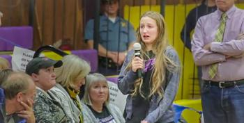 Student Begs Bundy To Leave At Town Meeting: 'I Shouldn't Have To Be Scared In My Hometown'