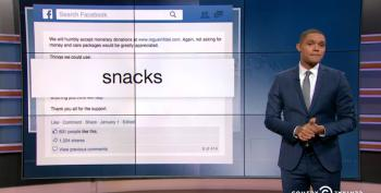 The Daily Show Answers Bundy Militia's Call For Snacks