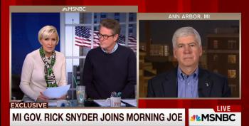 Gov. Rick Snyder Denies Flint Water Crisis Is Environmental Racism