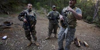 Far Right Militia Groups Worry That Bundy Boys Will Start Civil War II