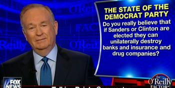 Bill O'Reilly Warns That Sanders Will Destroy The Economy