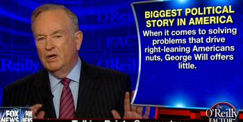 Bill O'Reilly Blames Colleague George Will For Donald Trump's Popularity