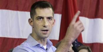 'Tehran Tom' Cotton Takes An Axe To Bipartisan Justice Reform