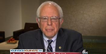 Sanders: My Ideas Are Supported By The Majority Of The American People
