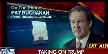 White Nationalist Pat Buchanan Defends Trump Against The NRO