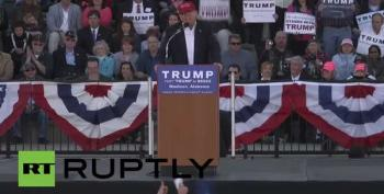 Trump Ejects 30 Black Students From His Rally For No Reason