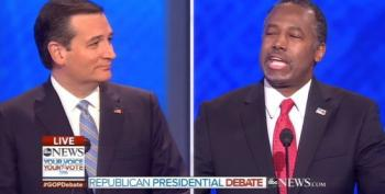 Ben Carson Scolds Ted Cruz For Dirty Tricks In Iowa