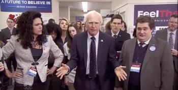 Larry David Returns To SNL As Bernie Sanders In 'Bern Your Enthusiasm'