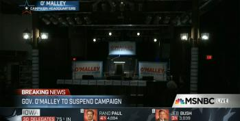 O'Malley To Suspend Campaign UPDATED W/ Video