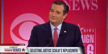Cruz Lies To GOP Debate Audience, Gets Corrected By Moderator