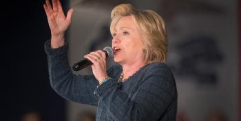 Hillary Clinton Visits Flint, Calls Water Crisis 'Immoral'