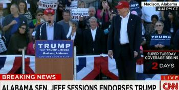 Sen. Jeff Sessions Endorses Donald Trump