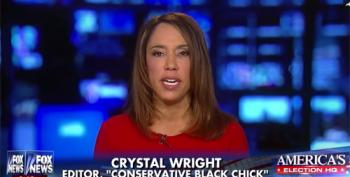 Crystal Wright Compared Blacks Voting For Bernie Or Hillary Like Voting For The KKK