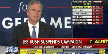 Jeb Bush Announces He's Suspending His Campaign