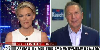 Megyn Kelly Helps Kasich Rehab His 'Women Left Their Kitchens' Comment