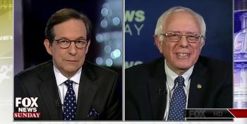 Bernie Sanders Laughs At Chris Wallace For Pretending Rich Haven't Done A Good Job Rigging The System