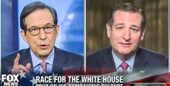 Chris Wallace Scolds Ted Cruz For Throwing A Tantrum Over Fact-Based Questions