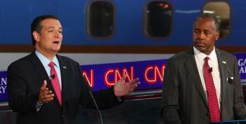 Carson, Cruz Hold Secret Meeting In A Closet  UPDATED