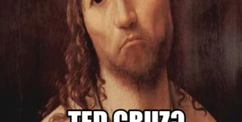 Ted Cruz Is A 'Christian First'?  No.  No He Isn't.