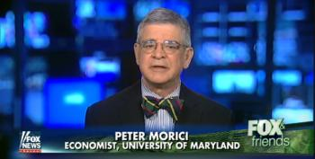 Fox 'News' Economist Blames Obama For Bush Recession