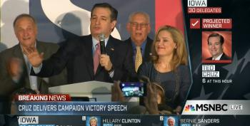 Ted Cruz Calls His Campaign A 'Testament To The Grass Roots'