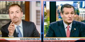'Wait A Minute, You Finished Third': Chuck Todd Punctures Ted Cruz's SC Victory Delusion