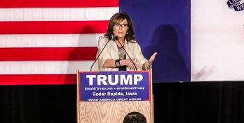 Sarah Palin: Steve King Is 'Huffing Ethanol' If He Thinks Trump Bought Me