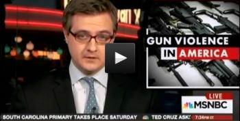Chris Hayes: 'Just Another Day In America With Guns'